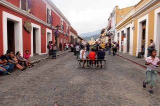 Antigua city streets