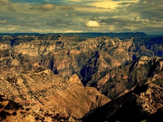 Cooper, Tararecua and Urique Canyons