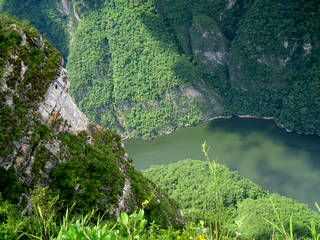 Sumidero Canyon Chiapas, Mexico