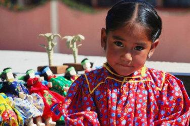 Raramuri girl, Copper Canyon, Mexico